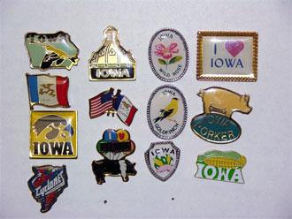 Iowa Lapel Pins
